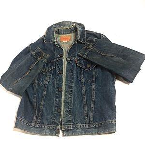 Vintage Levi's Distressed Jean Jacket